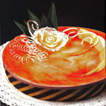 Mousse yogurt e fragole