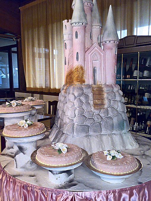Torta nunziale - Castello delle fiabe